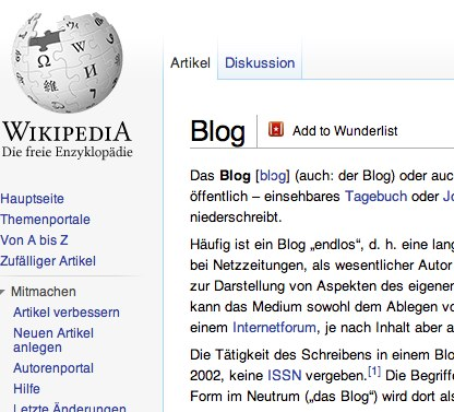 Ein Muster Codex für Blogger Relations