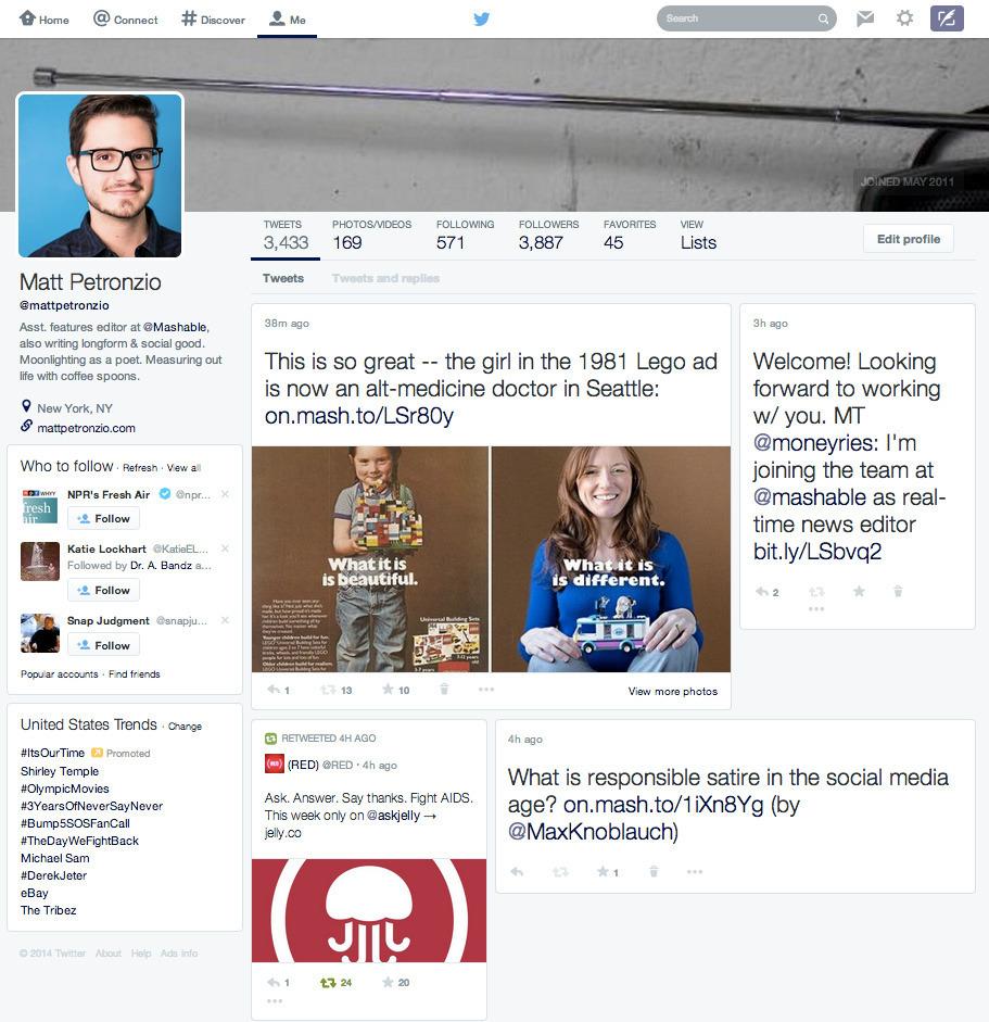 Twitter testet komplettes Redesign