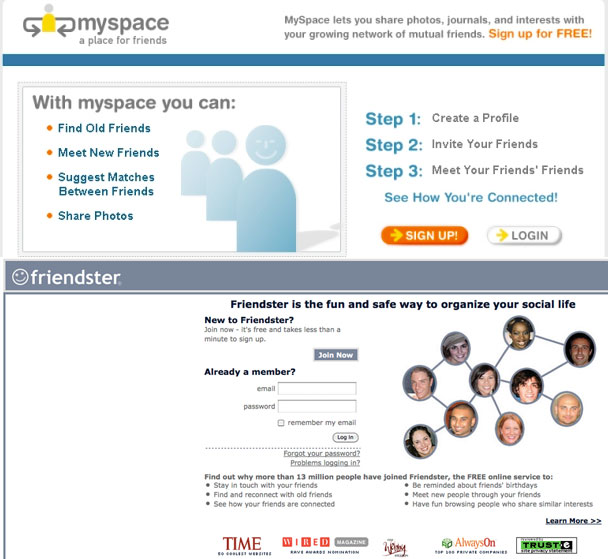 myspacefriendster