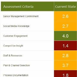 Social Media Readiness Score