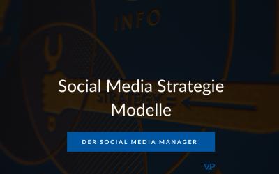 Social Media Strategie Modelle